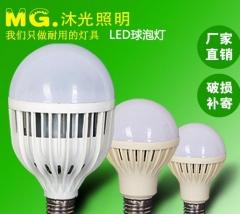 优点牌led球泡灯鸟笼节能LED灯泡高亮款 质保3年 12W一箱100个