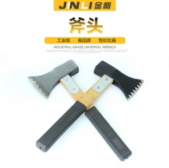 木柄加固斧头 防震锋利不掉头安全耐用金利 斧子 木柄 加固大号:40/件