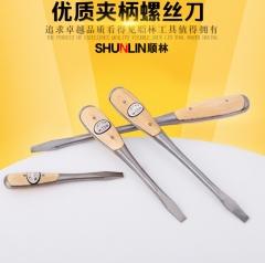 厂家批发 定制优质45#钢6-12寸夹柄螺丝刀 多功能手动省力螺丝刀 螺丝刀 6寸 6*150