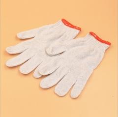 加密棉纱耐磨劳保防护手套 便宜纱线白手套劳保产品 均码 500g
