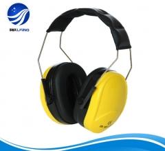 防噪音耳罩 专业隔音耳罩 工作学习 睡眠睡觉 折叠式射击工厂耳 头戴式 黄色